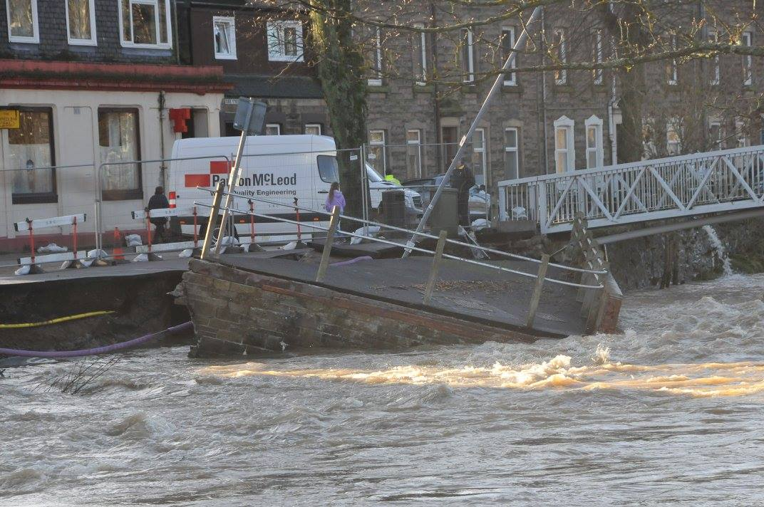 Storm Desmond Damage