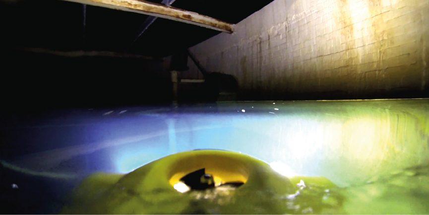 Internal Roof ROV Inspection